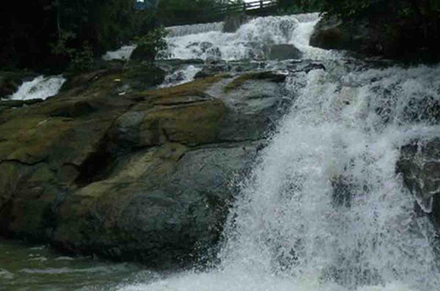 Aruvikuzhy Waterfalls, Pathanamthitta, Kerala